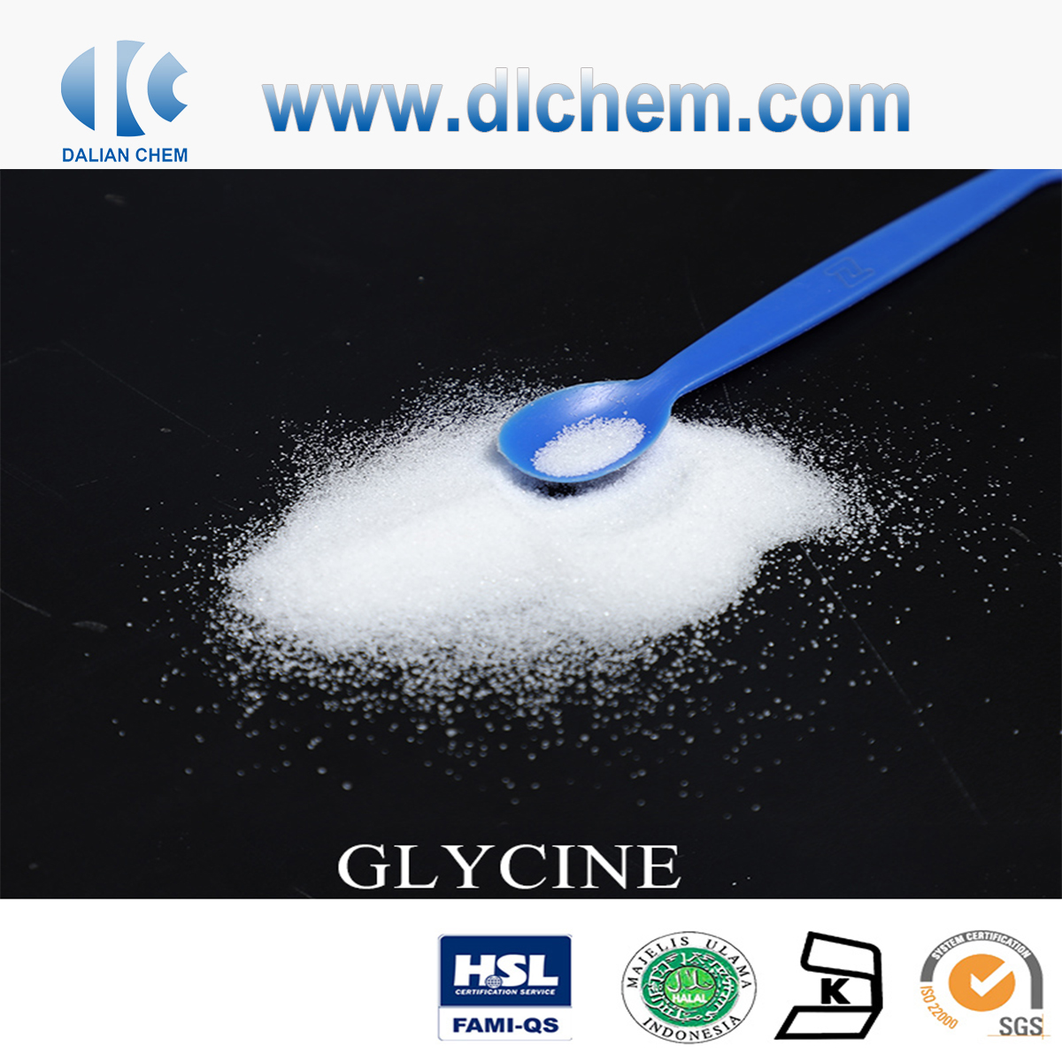 Glycine in Cosmetic Grade CAS No.56-40-6