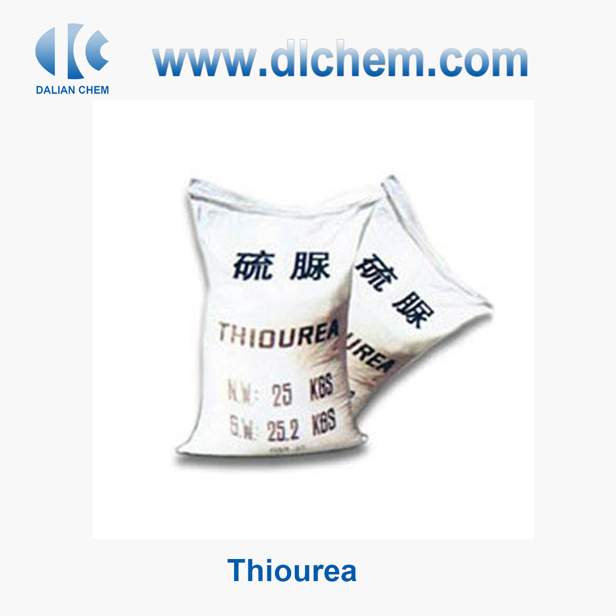 Wholesale Thiourea 98.5% Factory Supplier in China